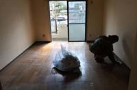 水戸市アパート部屋での遺品整理ゴミ片付け作業|ランドサービス