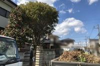 水戸市にてお庭の不用品お片付け|ランドサービス