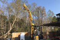 木造解体用グラップルフォーク導入|ランドサービス