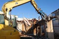 ひたちなか市にて2階建アパート解体|ランドサービス