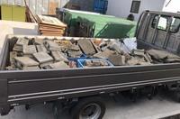 水戸市不用品回収お庭DIYから出てきたコンクリートガラ処分|ランドサービス