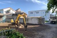 ひたちなか市住宅解体の様子|ランドサービス
