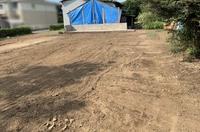 水戸市河和田町にて木造住宅解体工事|ランドサービス
