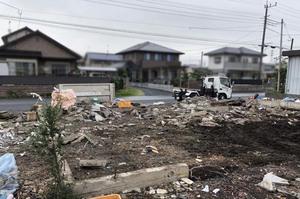 台風19号直後の作業風景 常陸太田市&ひたちなか市|ランドサービス株式会社