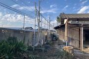 水戸市内にて平屋及び外構解体の様子|ランドサービス株式会社