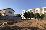 日立市大みか町にて2階建てRC造住宅解体の様子 LS