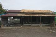 城里町にて木造蔵解体工事の様子|LS
