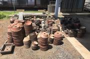 小美玉市にて植木鉢など敷地内の不用品回収 LS