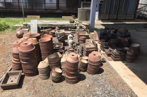 小美玉市にて植木鉢など敷地内の不用品回収|LS