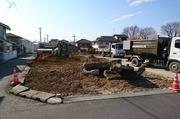 水戸市赤塚にて250坪の外構解体及び造成工事|LS