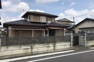 水戸市住吉町にて住宅及び外構解体工事|LS
