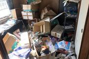 日立市内にてアパート内のゴミかたづけ作業|LS