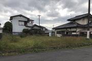 茨城町にて荒地の切土整地工事の様子|LS