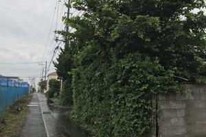ひたちなか市田彦にて木造住宅解体工事の様子|LS