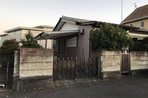 水戸市河和田町にて木造住宅解体の様子|LS