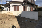 ひたちなか市中根にてブロック塀解体工事 LS