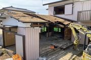 水戸市見川町にて空家の解体工事 LS